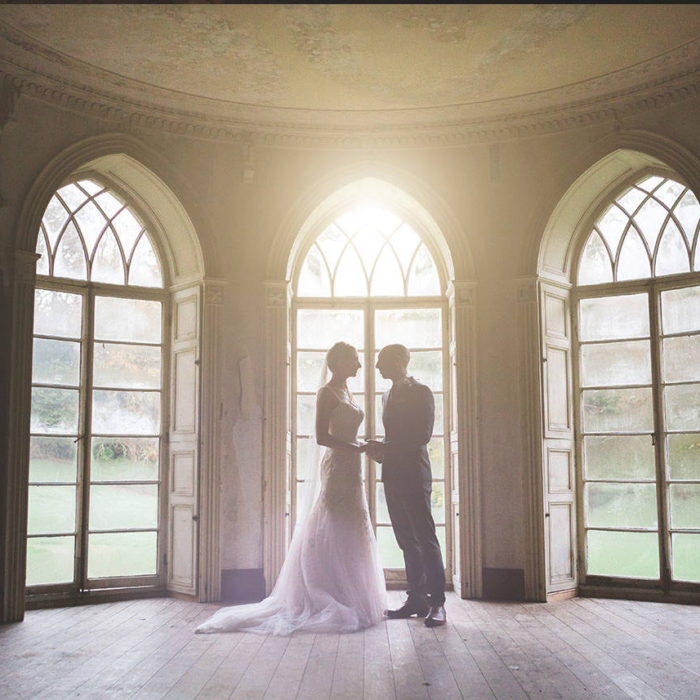 Wedding photographer Brinkburn Priory Northumberland- Melanie & Dk