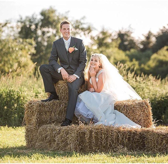 Northumberland wedding photography on Sarah & Robs farm