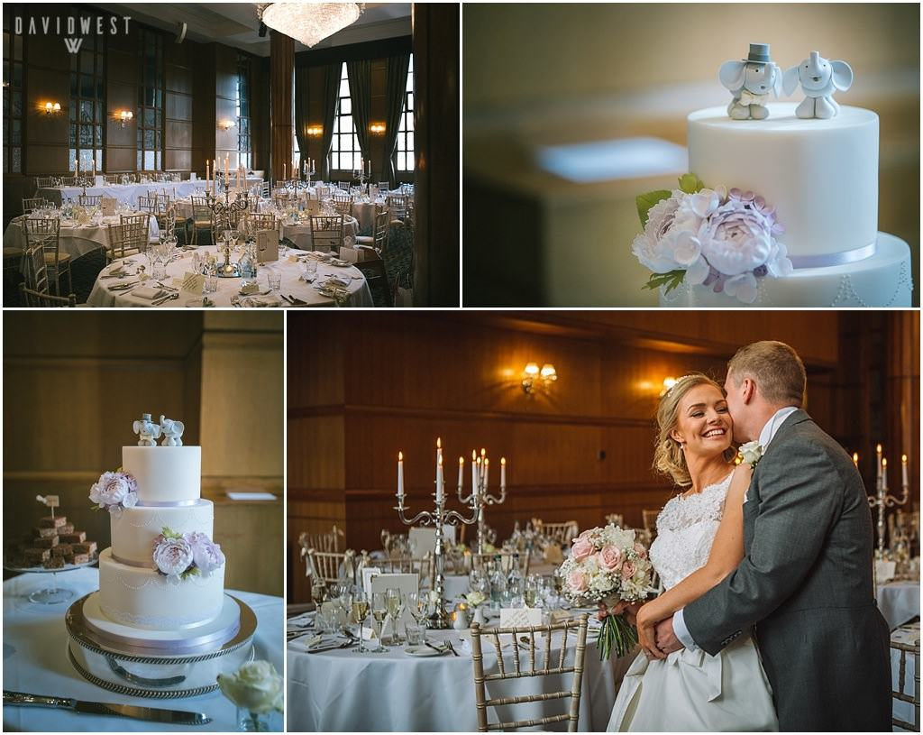 Wedding photography at the Vermont Hotel