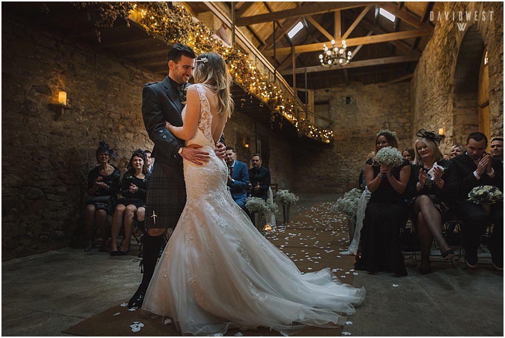 Doxford Barn Wedding in Northumberland