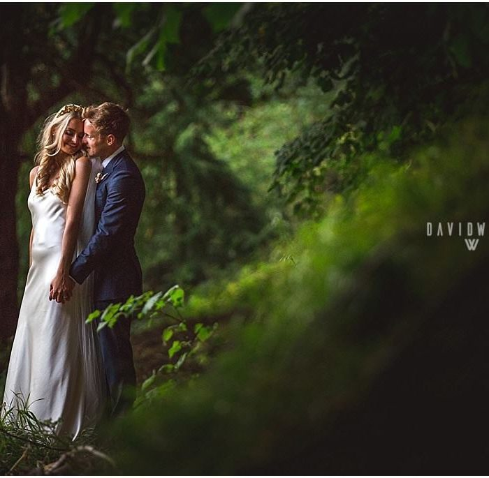 A golden summer wedding at Wynyard Hall