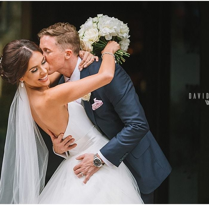 Love at first sight wedding at Jesmond Dene House