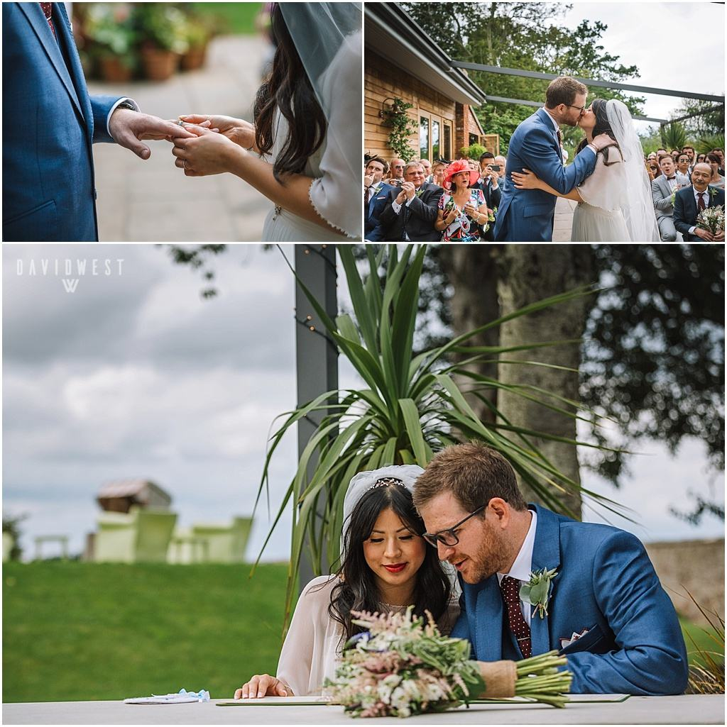 wedding photography Ali & Joel Newton Hall_2688