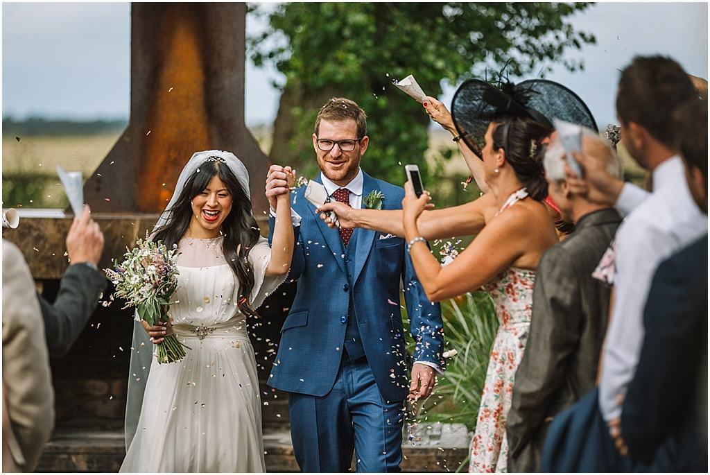 wedding photography Ali & Joel Newton Hall_2689