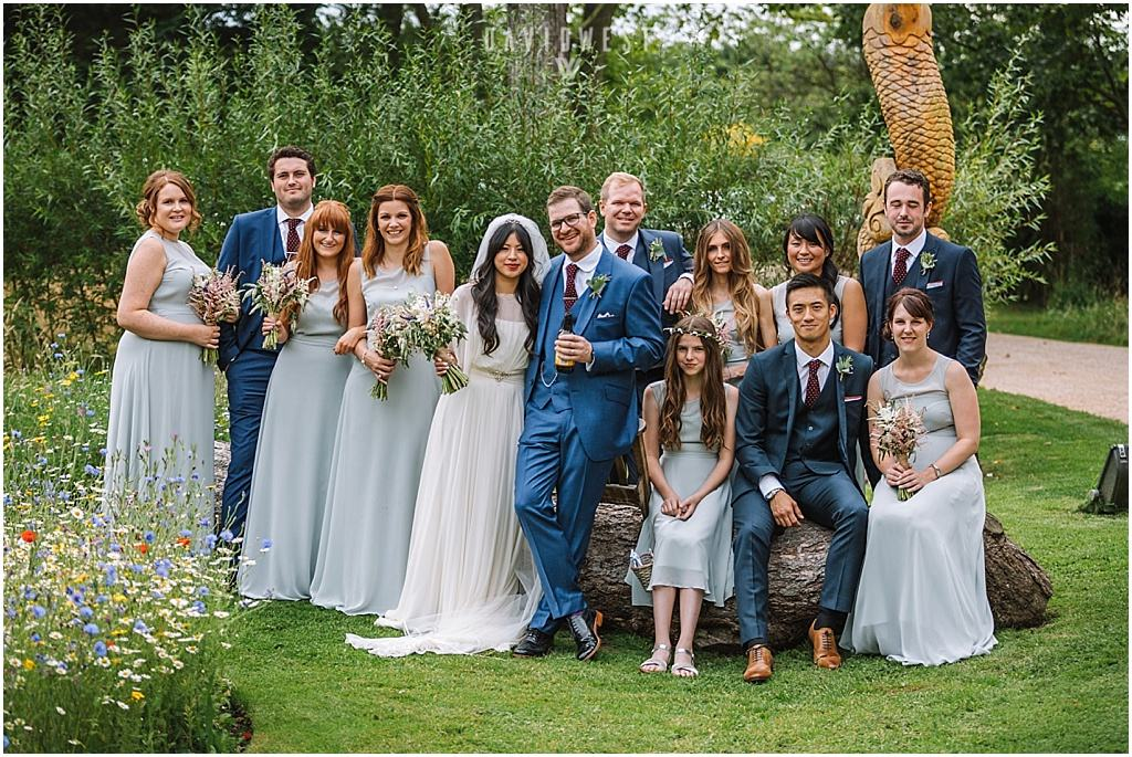 wedding photography Ali & Joel Newton Hall_2691