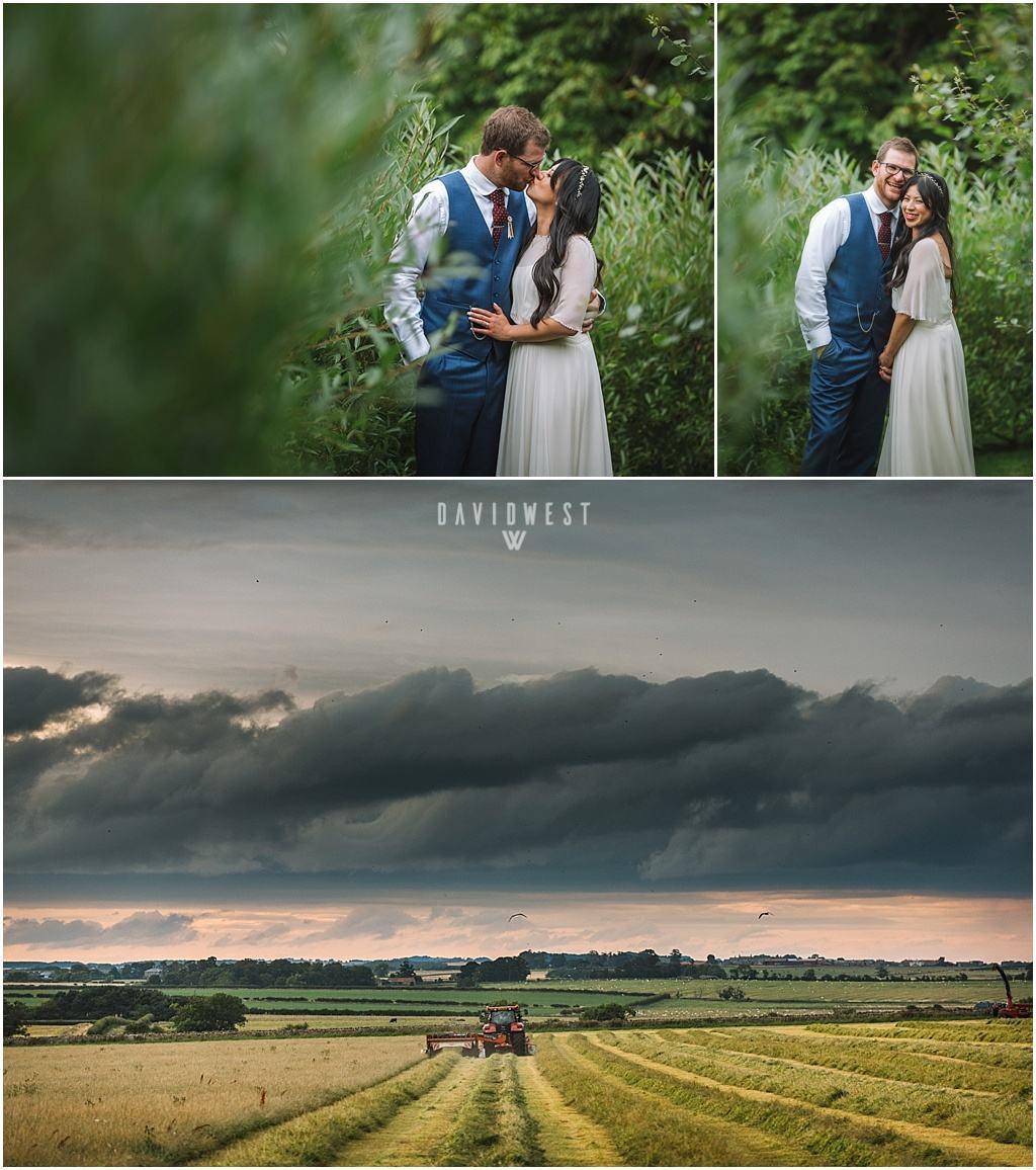 wedding photography Ali & Joel Newton Hall_2704