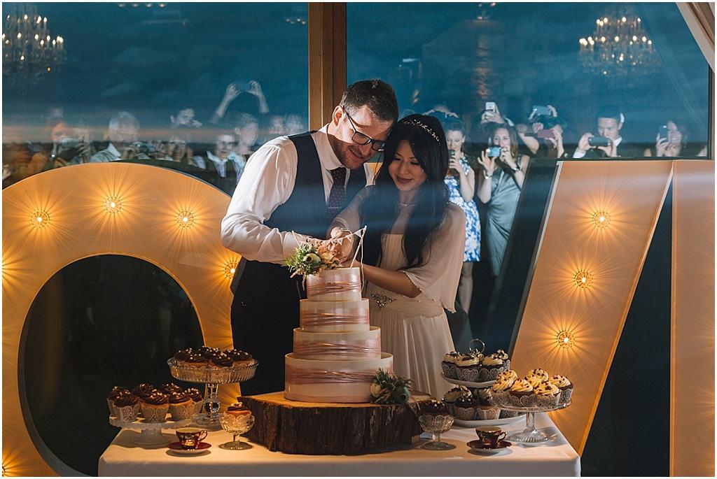 wedding photography Ali & Joel Newton Hall_2707