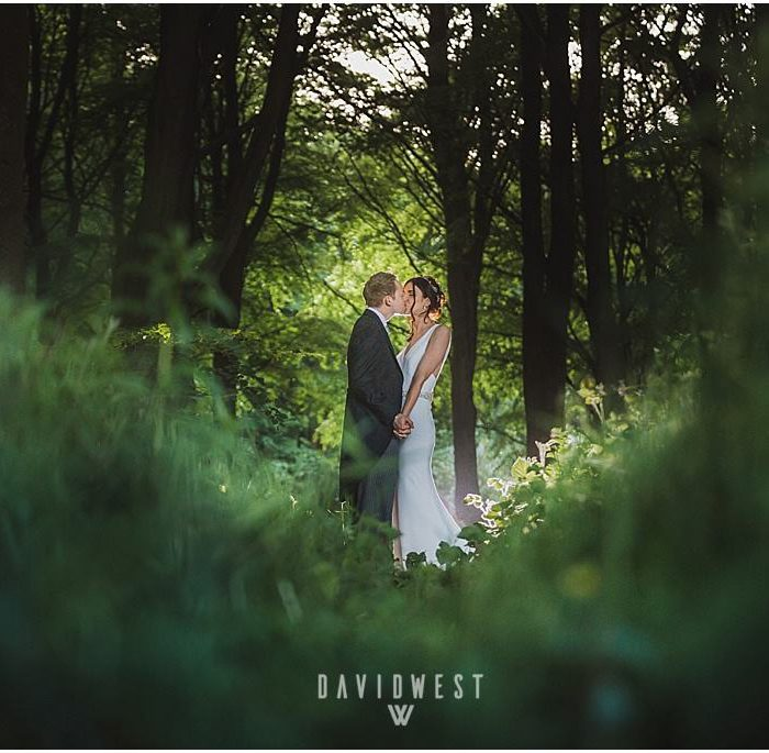 Wedding photography at Capheaton Hall Northumberland