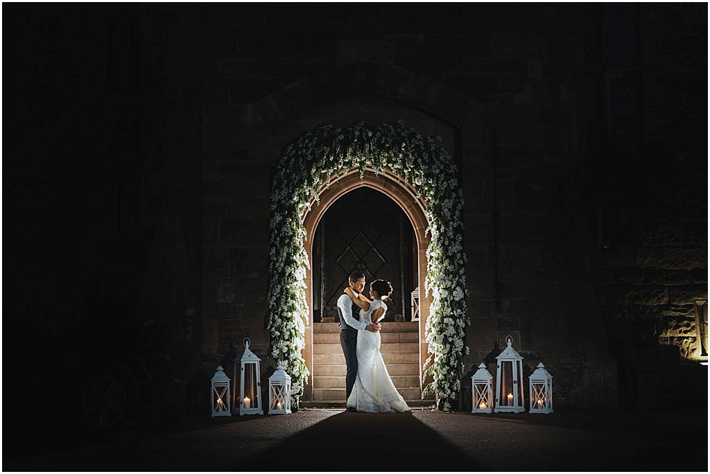 best wedding photographer peckforton castle