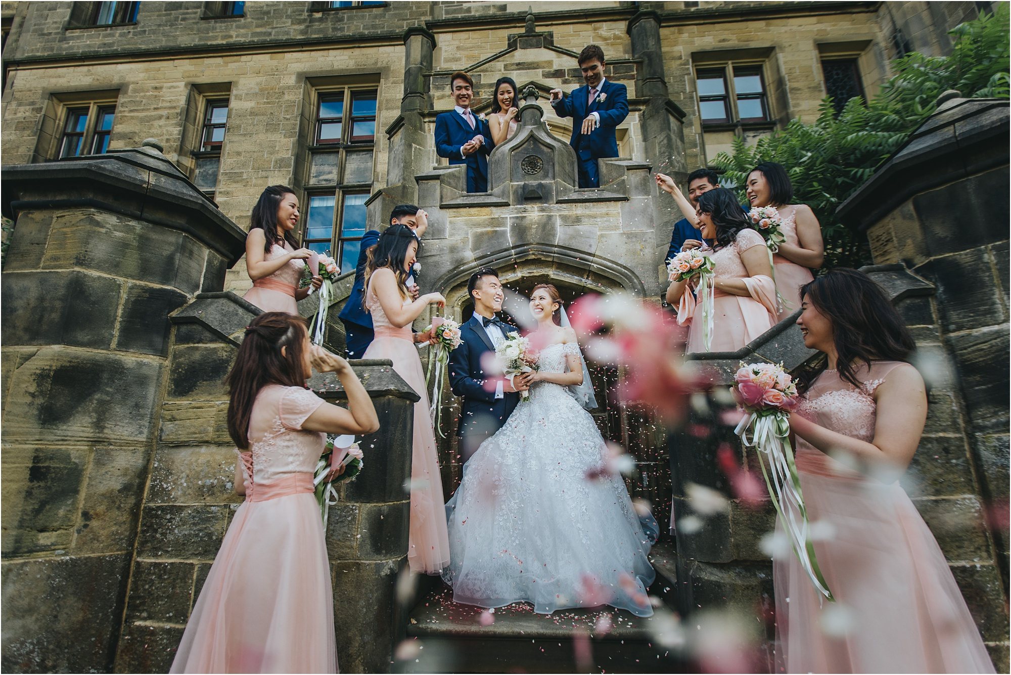 wedding photographer Allerton castle